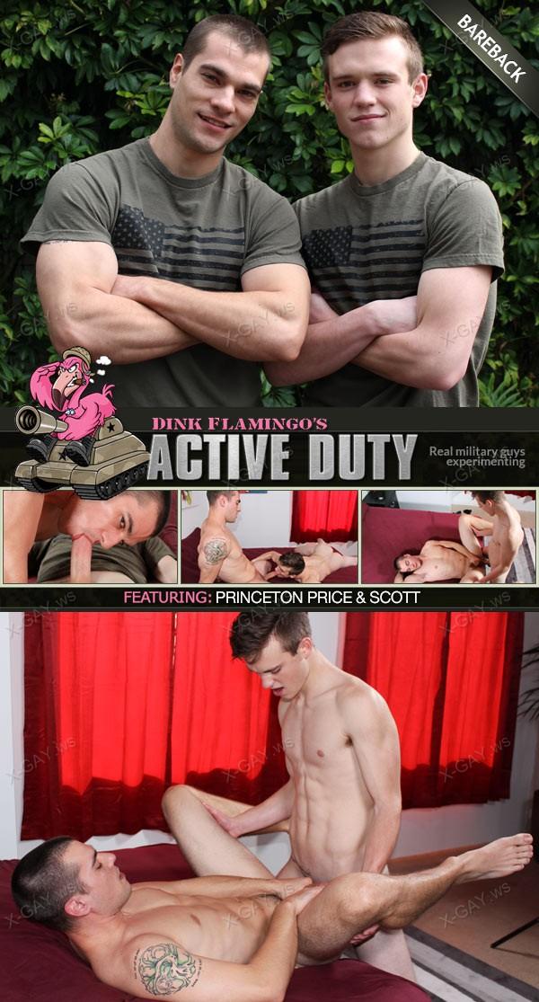ActiveDuty: Princeton Price, Scott V (Bareback)