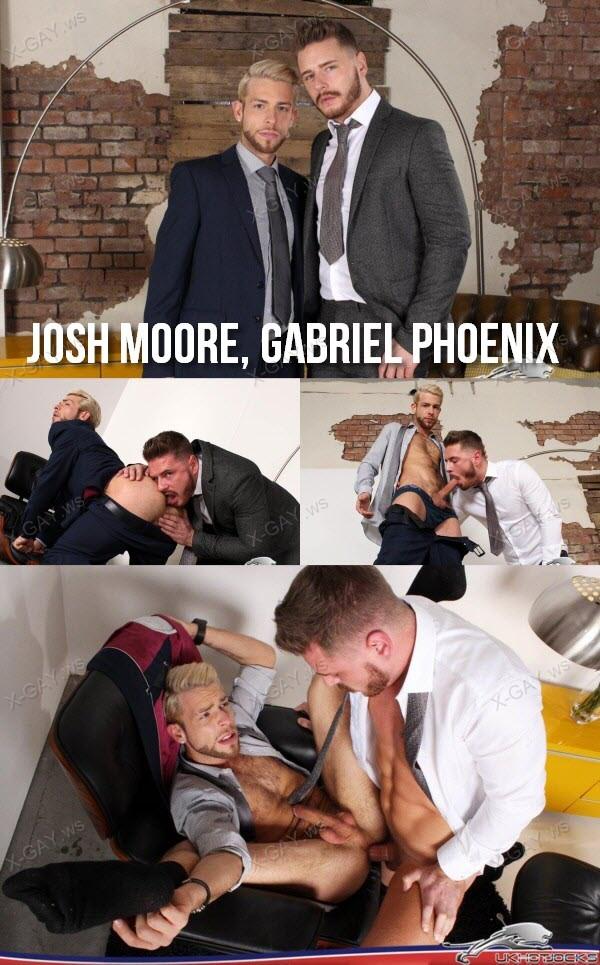 UKHotJocks: Sharp (Josh Moore, Gabriel Phoenix)