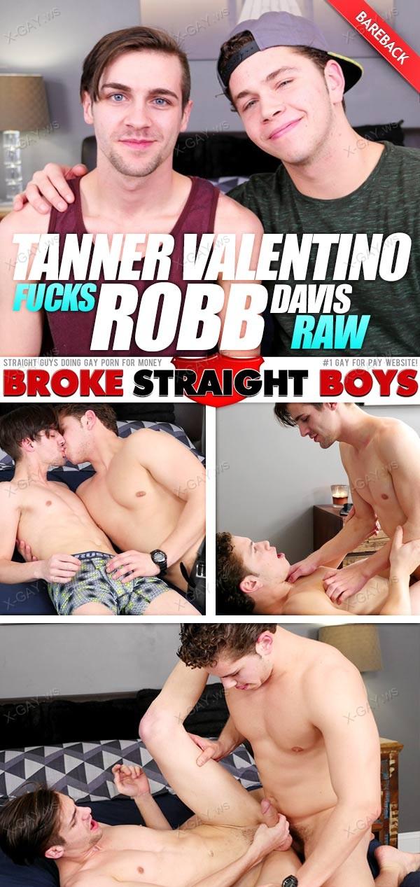 BrokeStraightBoys: Tanner Kissing Then Fucking Robb Raw (Tanner Valentino, Robb Davis)