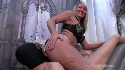 Clubstiletto – Mistress Kandy – I Promised You Some Big Juicy Farts