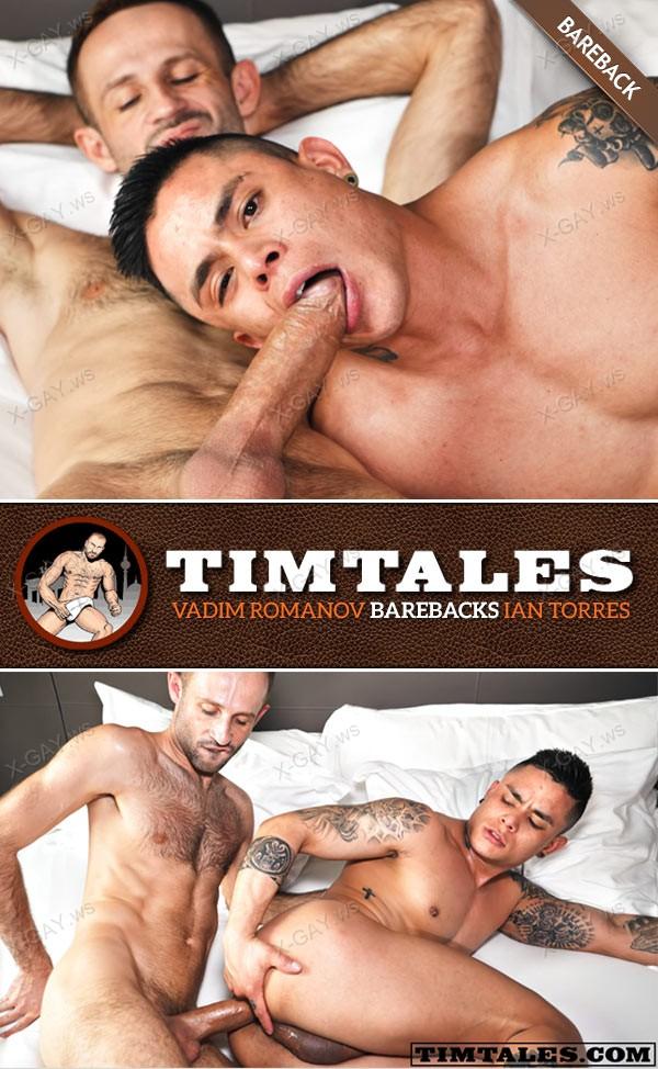 TimTales: Vadim Romanov Barebacks Ian Torres