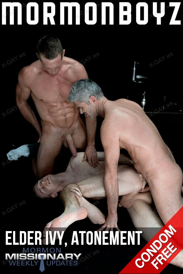 MormonBoyz: Elder Ivy, Atonement (with President Oaks and Brother Hales) (Bareback)