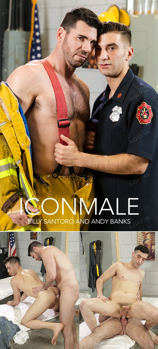 IconMale: Helping Hands! (Billy Santoro, Andy Banks)