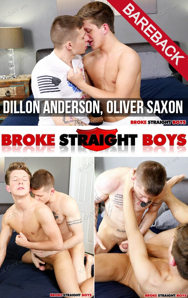 BrokeStraightBoys: Dillon Anderson Fucks Oliver Saxon, RAW