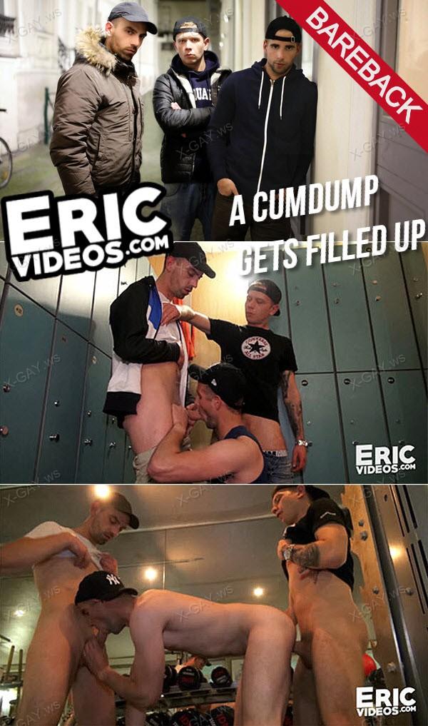 EricVideos: A Cumdump Gets Filled Up (Bareback)