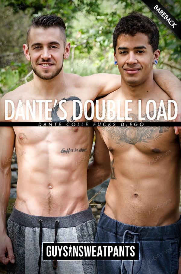 GuysInSweatpants: Dante's Double Load (Dante Colle, Diego) (Bareback)