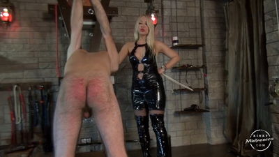 Kinky Mistresses – Mistress Marta – Caned by 2 Ladies