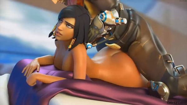"Best Animated Porn Compilation – ""Overwatch Ebony"" Edition [1080p] [WITH SOUND] [40m]"